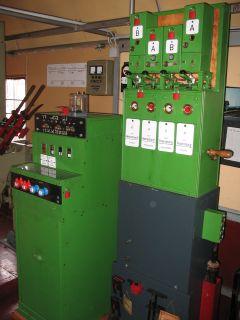 Elektromechanisches Stellwerk Bauart E43 für eine Blockstelle